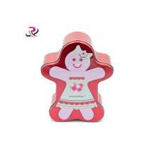 Carton Shape Candy Packaging Tin Box