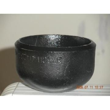 Black Carbon Steel Pipe End Cap