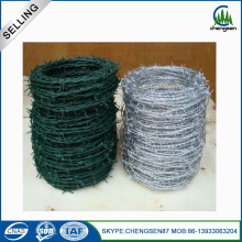 Double Twist PVC Coated Barbed Wire