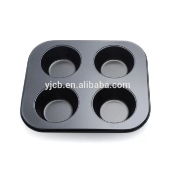 Bakeware Molds 4 Cups Cake Mini Muffin Pan
