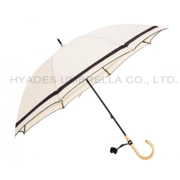 curved or straight umbrella handle