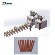 Leading for China Jerky Treats Stick Machine,Auto Meat Strip Processing Line,Meat Stick Making Machine Manufacturer and Supplier Automatic Beef Jerky Stick Making Machine supply to Sweden Suppliers