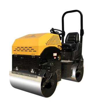 ST1200 CE certification double vibratory road roller