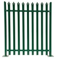Heavy duty W and D type galvanized steel palisade fence  for garden