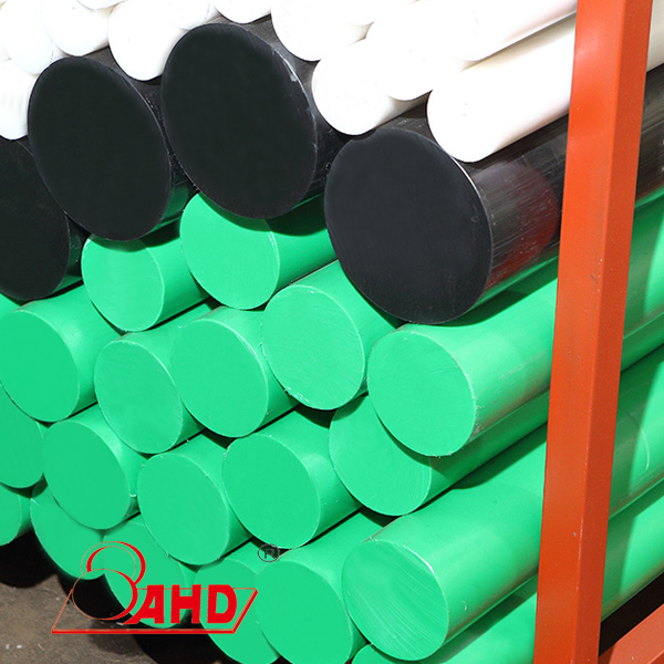 polyethylene rod green