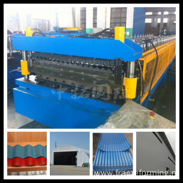 galvanized zinc roof shingle production line