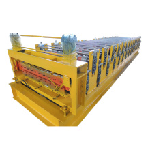 zinc roofing sheet double layer roll forming machine
