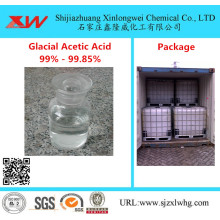 Quality for Leather Chemicals Glacial Acetic Acid 99%,99.5%,99.8% manufactory supply to Germany Importers