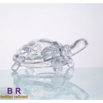 High Permance for Glass Statues crystal glass tortoise for home decoration supply to Christmas Island Manufacturers