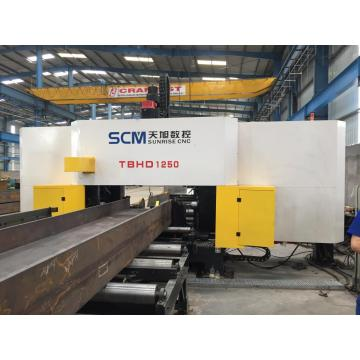 High Precision CNC Beams Drilling Machine
