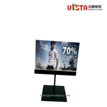 Adjustable Metal Sign Holder Poster Display Stands