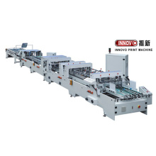 Factory Promotional for Folder gluer Details ZX-1200 4&6 corner Automatic Folder gluer machine export to Turkey Wholesale