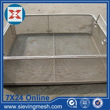 High Definition for Wire Mesh Baskets Fine Metal Storage Basket supply to Comoros Manufacturer