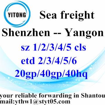 Shenzhen Global Freight Agent to Yangon