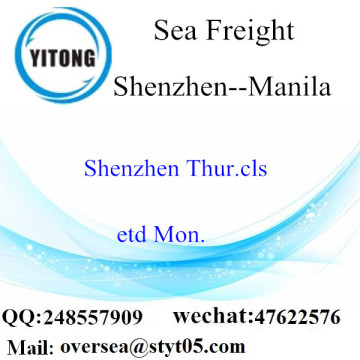 Shenzhen Port LCL Consolidation To Manila