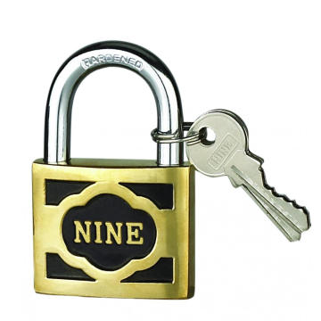 China for Solid Brass Padlock 40MM M-thick Cast Brass Padlock With Short Shackle export to Virgin Islands (British) Suppliers