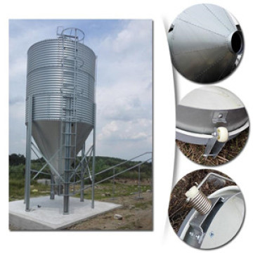 Farm silo feed bins