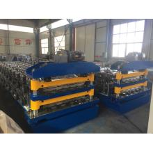 Double roof steel rolling machine