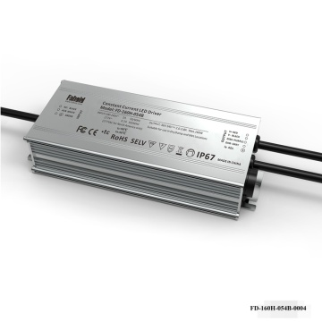 160W IP rated linear Luminaire Driver