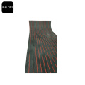 Melors Red Black Synthetic Faux Teak Marine Sheet
