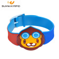 Cartoon Custom PVC RFID Wristband 13.56MHZ