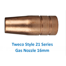 Factory directly provided for Gas Cutting Nozzle,Automatic Gas Injector Nozzle,Automatic Gas Filling Nozzle Supplier in China Tweco 21-62 16mm Gas Nozzle export to Saudi Arabia Suppliers