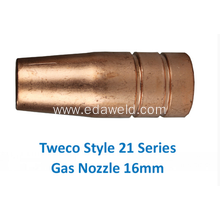 Tweco 21-62 16mm Gas Nozzle
