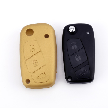 OEM Silicone Key Cover Fit voor Fiat
