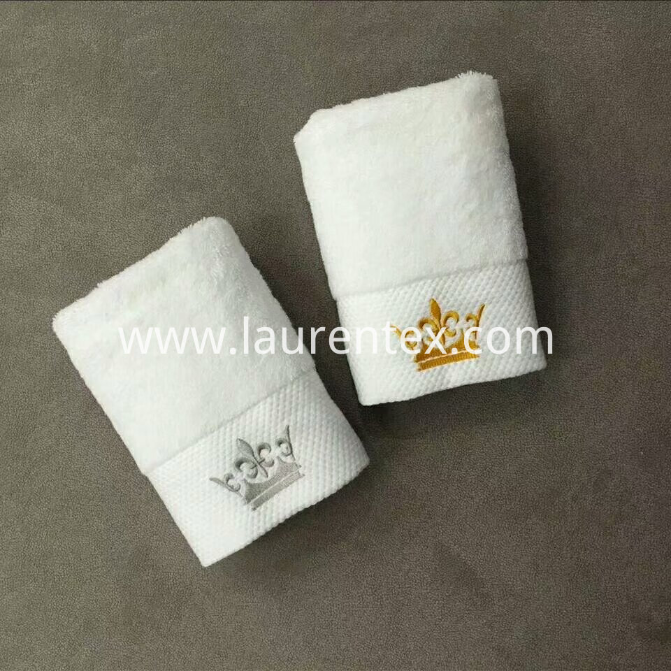 Crown series Cotton embroidered towel 7