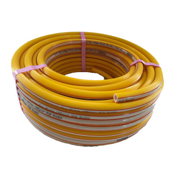 Agricultural sprayer 5 layer braided pvc hose