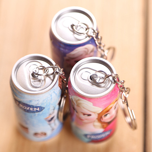 Cola Shape Promotional Keychains