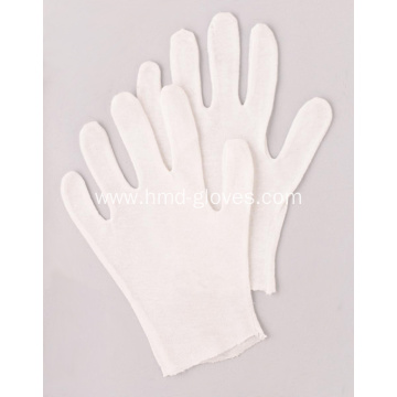 White Cotton Gloves for Eczema