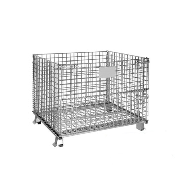 Foldable Wire Containers Pallet For Security Storage
