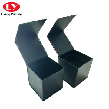 Magnet Closure Cardboard Candle Boxes Holder Design