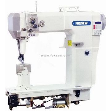 Double Needle High Head Fully Automatic Postbed Lockstitch Sewing Machine