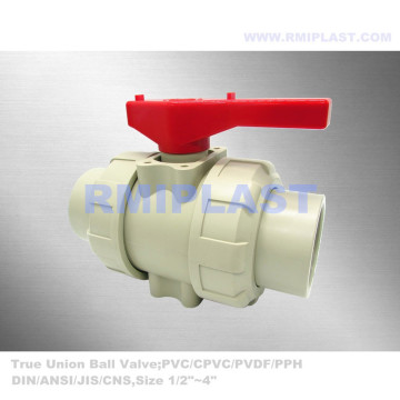 PP Ball Valve Socket Welding DIN