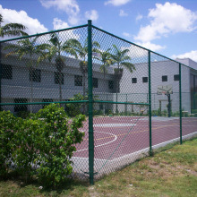 Chain Link Fence Mesh Installation