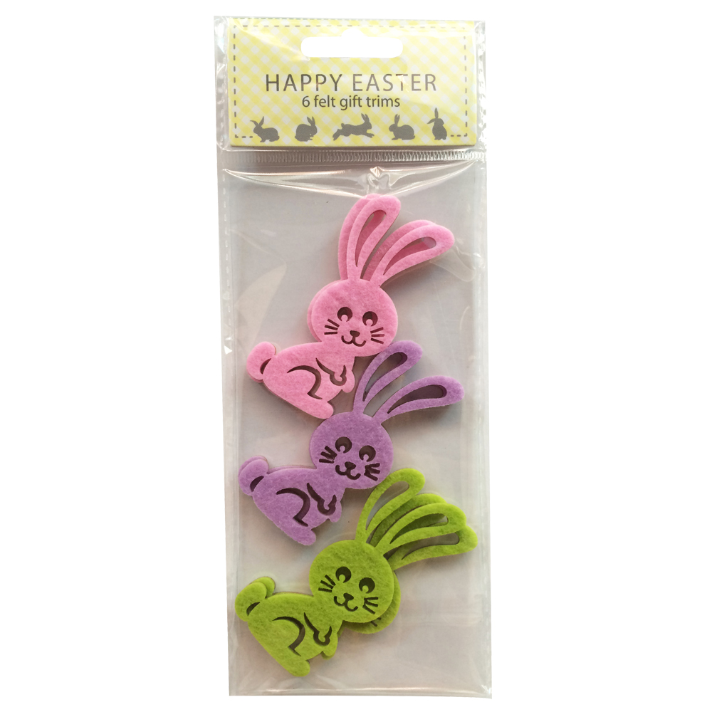 Easter Hollow Rabbit Pattern Sticker