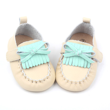 Slip-on Baby Girl Leather Shoes Infant Toddler Shoe