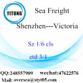 Shenzhen Port LCL Consolidation To Victoria