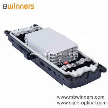 FTTH 3 in 3 out Fiber Optic Inline Splitter Splice Closure 96 Core