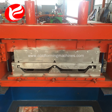 Steel joint hidden metal panel roll forming machine