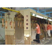 woodware surface spray painting system