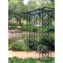 Factory selling for Black Garden Arbor Garden Arbor with Lattice export to Norway Supplier