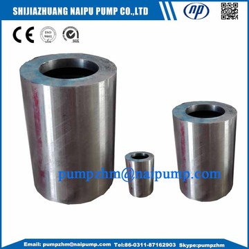 10 Years for OEM High Chrome Slurry Pump Parts Slurry pump shaft sleeve OEM sleeve export to France Exporter