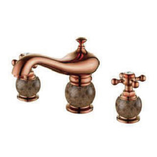 Antiquate wash basin faucet