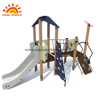 Outdoor Hpl Navy Playgroud Equipment