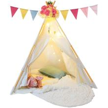 Kids Teepee Tent for Kids with Ferry Lights