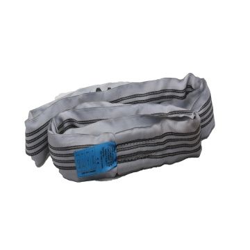 4T Grey Factory Price Endless Lifting Round Sling