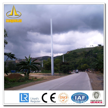 Galvanized 500kv Steel Power Poles